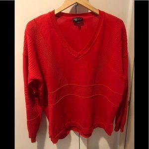 Topshop V-Neck Sweater Top